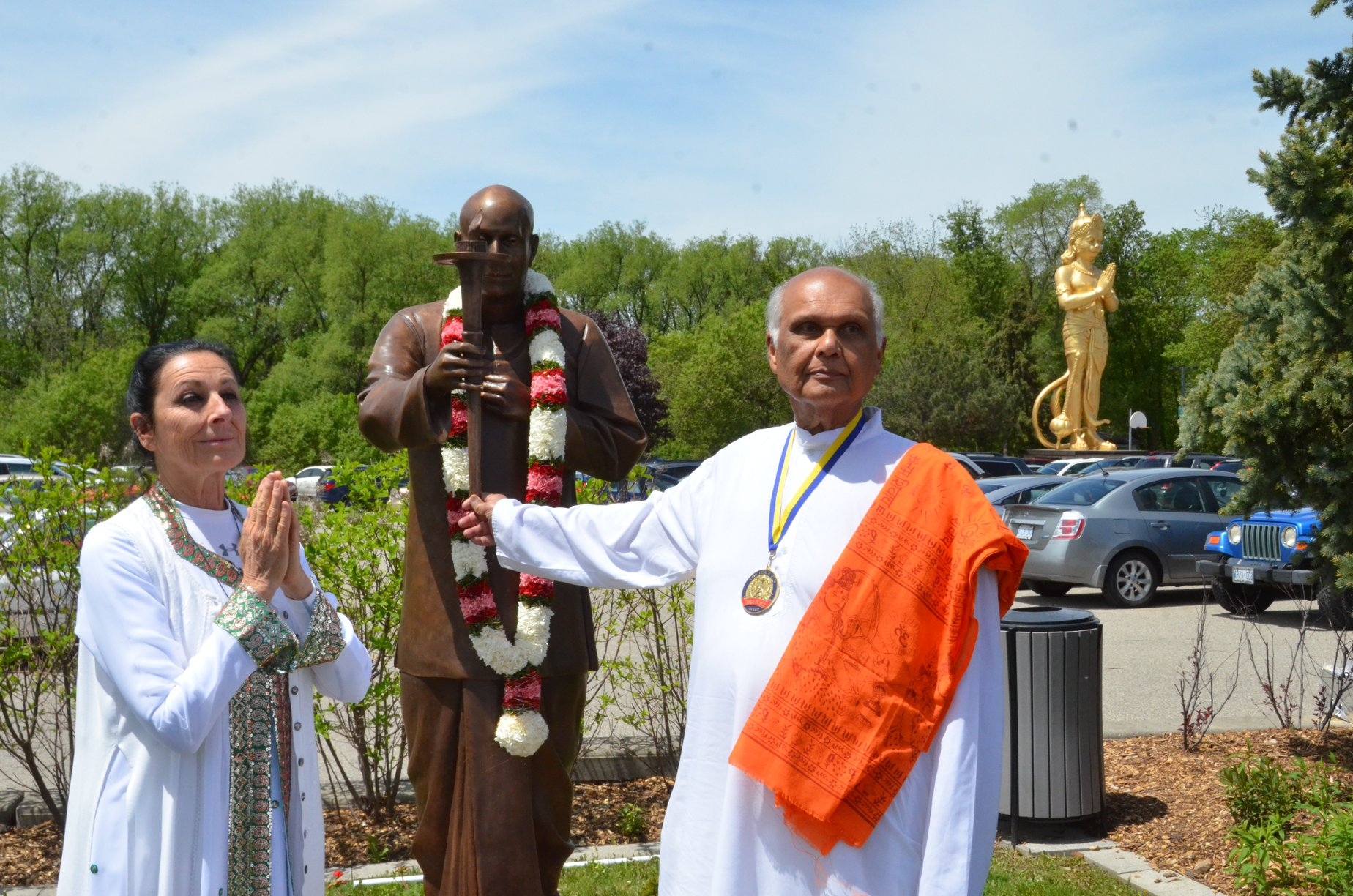 Peace Park Inauguration Shree Chinmoy Statue May 2019