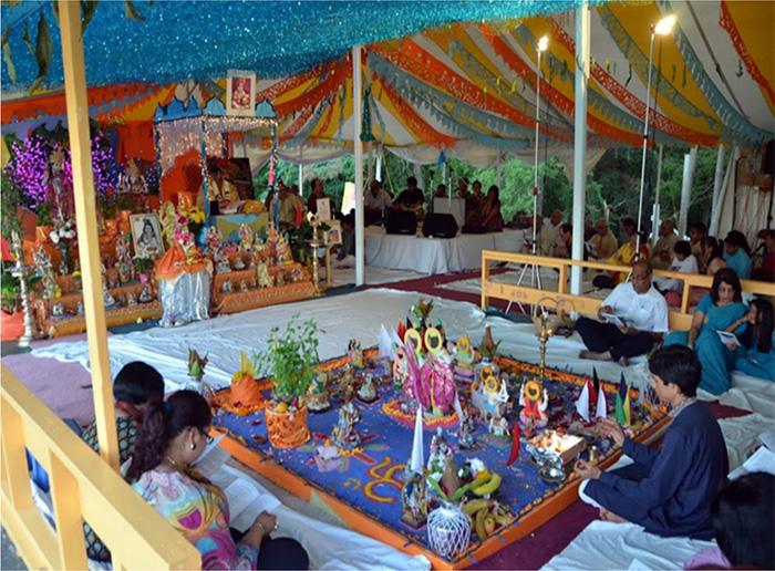 Annual Outdoor Bhagvat Katha
