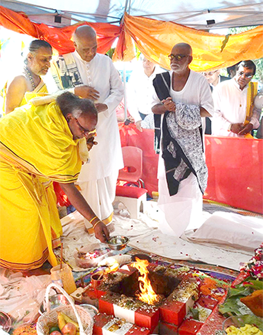 Inauguration started with Havan