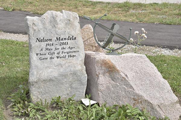 Memorial of Nelson Mandela