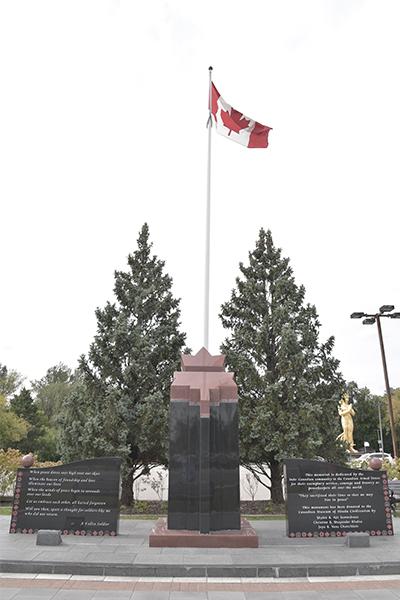 Memorial to a Fallen Soldier