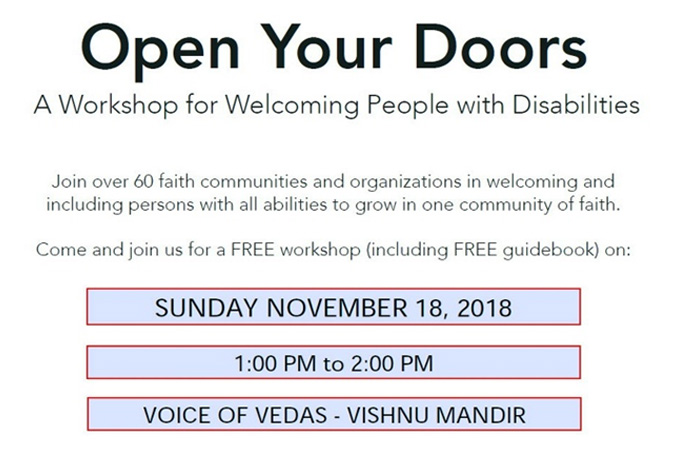 Open Your Doors workshop