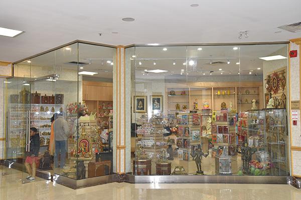 The Vishnu Mandir Gift Shop